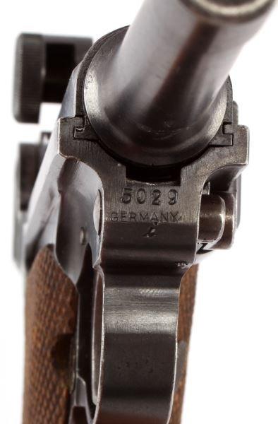 1920 COMMERCIAL DWM LUGER .30 CAL GESICHERT SEMI - 8
