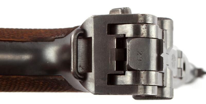 1920 COMMERCIAL DWM LUGER .30 CAL GESICHERT SEMI - 9
