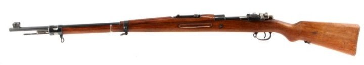 PERSIAN MAUSER MODEL 98/29 BOLT ACTION RIFLE 8MM - 2