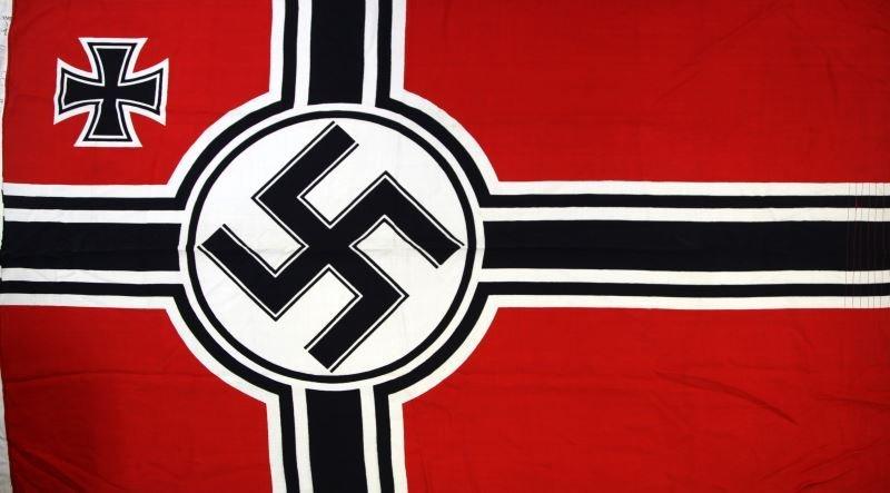 REICHSKRIEGSFLAGGE WWII GERMAN WAR ENSIGN