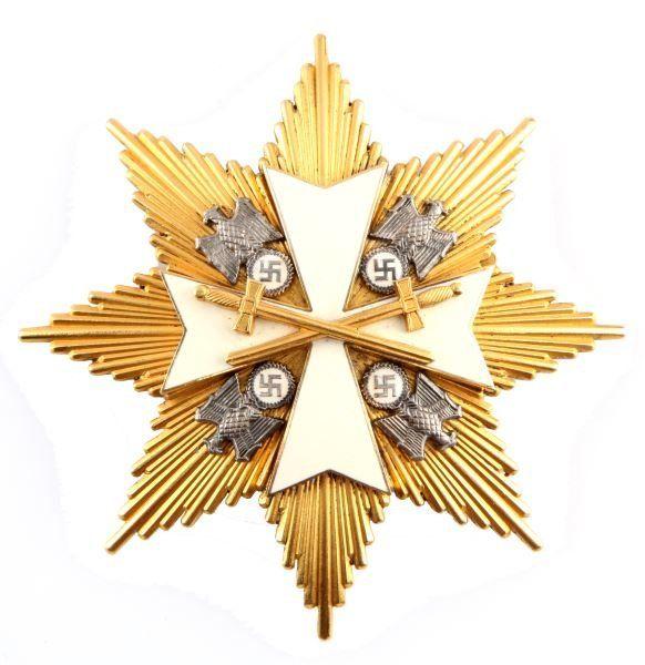 WWII THIRD REICH MERITORIOUS GERMAN EAGLE W/ SWORD