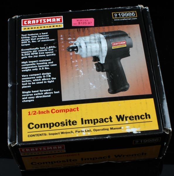 CRAFTSMAN PROFESSIONAL 1/2 INCH IMPACT WRENCH