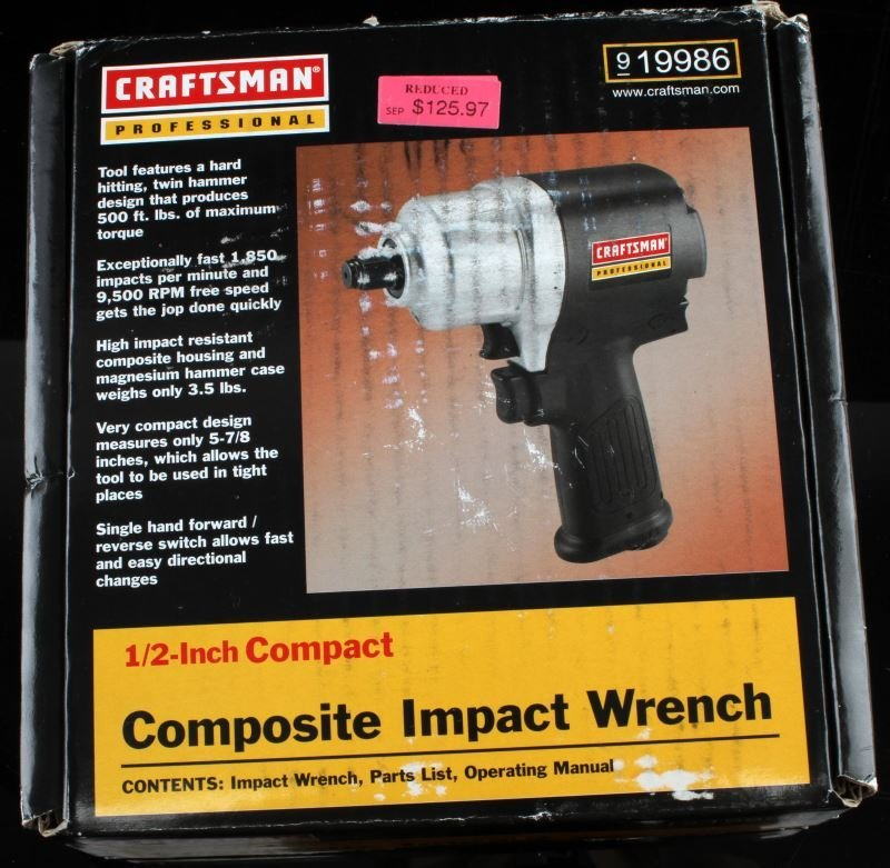 CRAFTSMAN PROFESSIONAL 1/2 INCH IMPACT WRENCH - 2