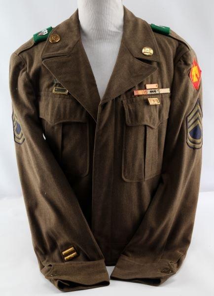 KOREAN WAR 45TH INFANTRY 1ST CLASS SERGEANT JACKET