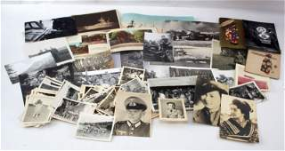 WWII GERMANY JAPAN MIXED PHOTO POSTCARD LOT