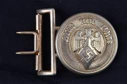 WWII THIRD REICH GERMAN HITLER YOUTH HJ BUCKLE