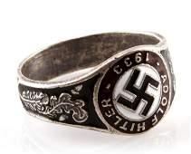 WWII THIRD REICH GERMAN ADOLF HITLER NSDAP RING