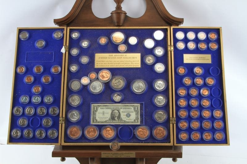 HERITAGE OF AMERICA COIN COLLECTION SILVER COINS - 4