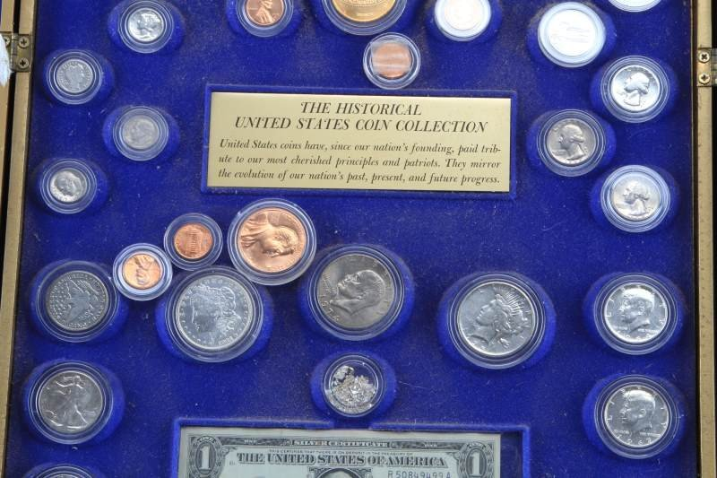 HERITAGE OF AMERICA COIN COLLECTION SILVER COINS - 5