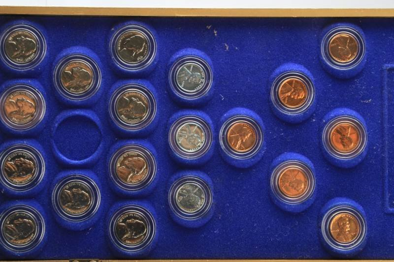 HERITAGE OF AMERICA COIN COLLECTION SILVER COINS - 7