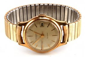Mens Vintage Ingersoll 7 Jewel Watch With Date