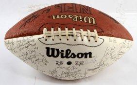 Signed 1993 New York Giants Football