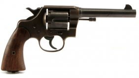 Wwi Era Colt Army Model 1917 Da .45 Cal Revolver