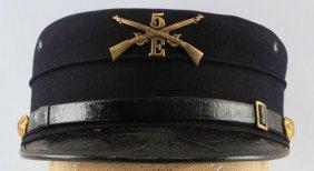 Spanish American War Kepi Cap With Insignia
