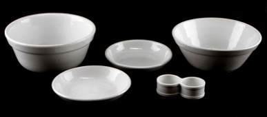 WWII GERMAN ARMY & NAVY MARKED MESS BOWLS