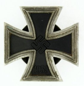 Wwii Third Reich German 1st Class Iron Cross