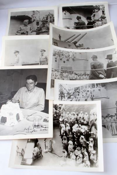 LOT OF EIGHT WWII JAPANESE SURRENDER PHOTOS