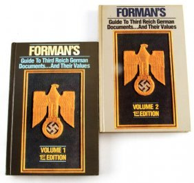 Guide To 3rd Reich Documents & Values Forman's