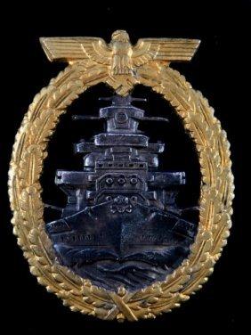 Wwii German Kriegsmarine Flotilla Fleet Badge