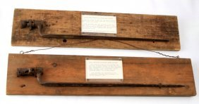 Two Dug Relic Bayonets Civil War & Indian Wars