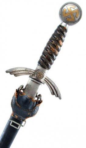 Wwii Third Reich German Luftwaffe Sword By Smf