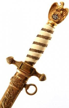 Wwii Third Reich Kriegsmarine Honor Dagger