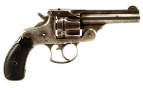 Antique Smith & Wesson 2nd Model .38 Top Revolver