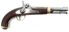 Us Model 1842 Henry Aston Percussion Pistol