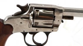 Hopkins & Allen Range Model Revolver In .38 Cal