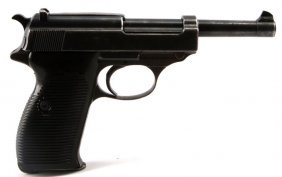 Wwii Walther P38 Semi Automatic Pistol 9mm Eagle