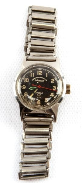 "Mens Vintage Military Type ""lowan"" Wrist Watch"