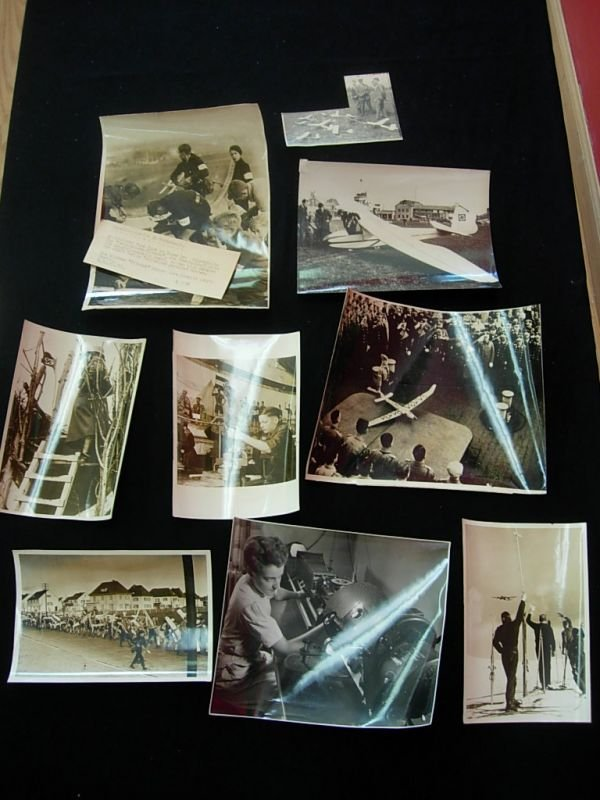 1003: WWII GERMAN PRESS PHOTO GLIDER & MORE LOT
