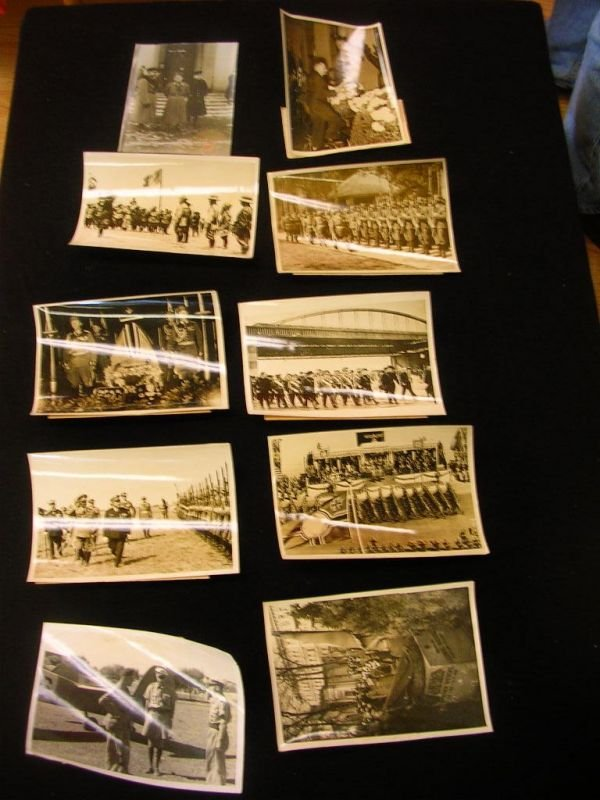1115: WWII GERMAN PHOTO LOT ROMMEL ORIGINAL PRESS PHOTO