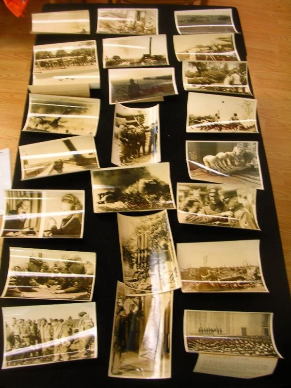1004: WWII GERMAN LUFTWAFFE PRESS PHOTO LOT OF 23