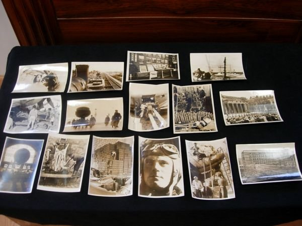 1018: WWII GERMAN MILITARY PRESS PHOTO LOT OF 15