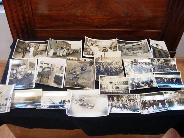 1020: WWII GERMAN LUFTWAFFE ZEPPELIN PHOTO LOT OF 20