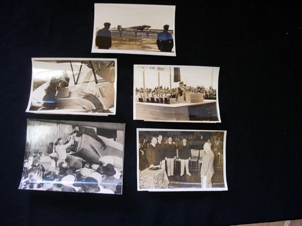 1012: GERMAN AVIATION WWII HISTORIC PRESS PHOTO LOT