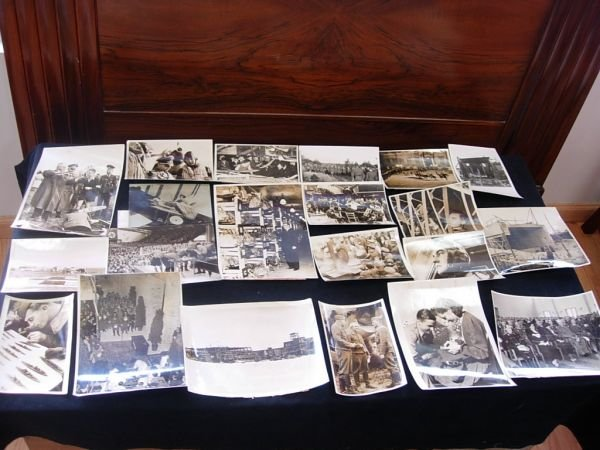 1016: WWII GERMAN MILITARY AVIATION PHOTO LOT OF 21