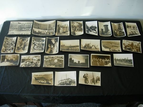 1011: WWII GERMAN MILITARY PRESS PHOTO LOT OF 25
