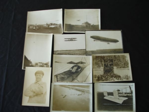 1006: EARLY AVIATION PRESS PHOTO WRIGHT VEDRINE PAULHAM