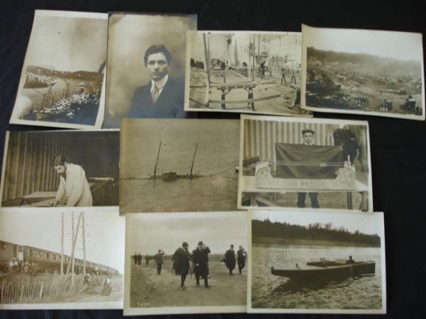 1013: PIONEER AVIATION PRESS PHOTO LOT WRIGHT AIRPLANE