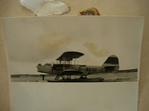 2085: WWII GERMAN FLYING BOAT TOWING PHOTO LOT 100+ - 3