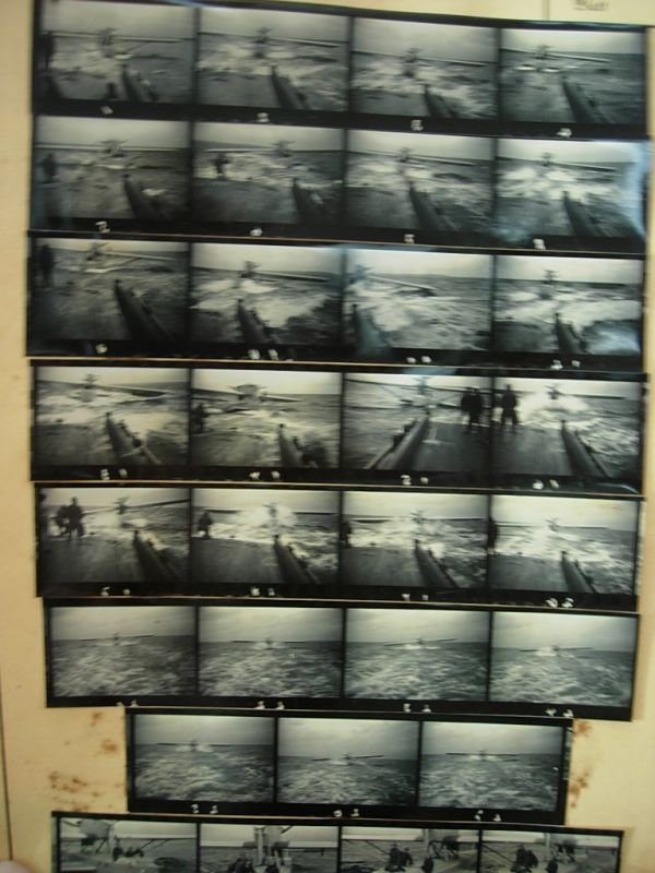 2085: WWII GERMAN FLYING BOAT TOWING PHOTO LOT 100+ - 5