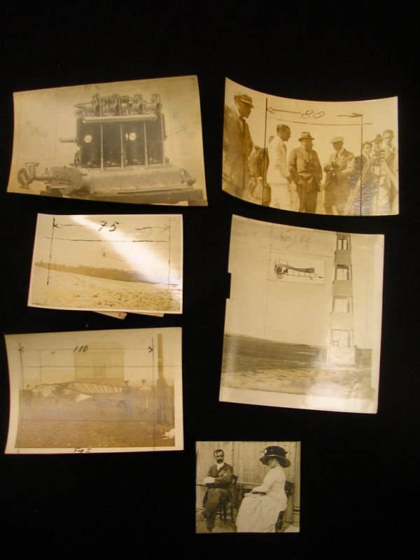 2002: ANTIQUE AIRPLANE PHOTO LOT BLERIOT AND MORE