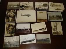 EARLY WWI WWII GERMAN LUFTWAFFE AVIATION PHOT LOT