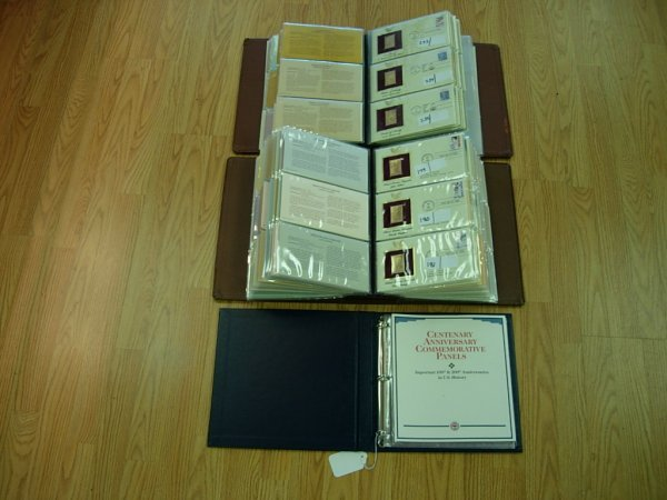 27: GOLDEN REPLICA GOLD FDC 2 BOOKS 2 BINDERS OF GOLD P