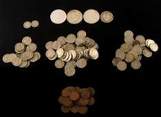 US COIN COLLECTION LOT CENTS TO SILVER DOLLARS