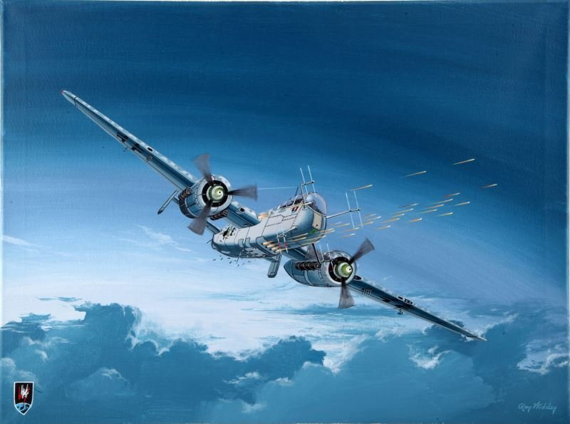 HE-219 OWL RAY WADDEY 18 BY 24 INCH PAINTING