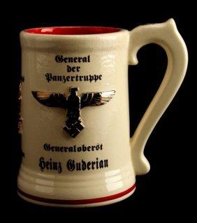 General Panzertruppe Heinz Guderian Beer Stein