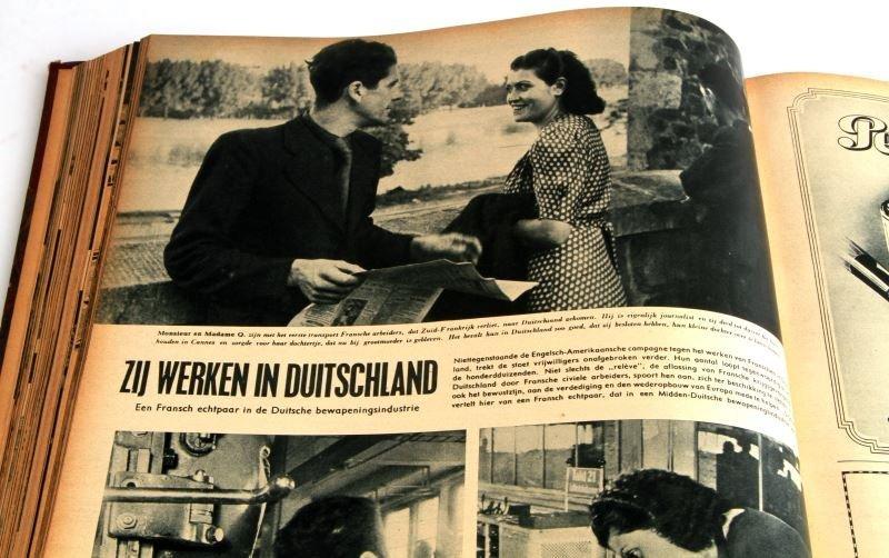 WWII GERMAN #1 TO #24 1943 BOUND SIGNAL MAGAZINE - 3